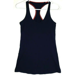 Lululemon Womens Cool Racerback Navy Blue Tank Top